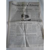 Suddeutsche Zeitung.27.Dezember 1989.Уникальный номер газеты,посвященный свержению и казни румынского диктатора Николы Чаушеску.