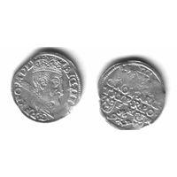 3 гроша Усхова 1597г