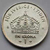 Швеция, 1 крона 2003 г