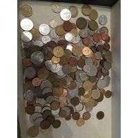 1 кг монет мира, без СССР, РФ и Украины