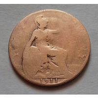 1/2 пенни, Великобритания 1911 г., Георг V
