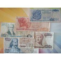 Греция 1978-87гг. полный набор  50-5000д.