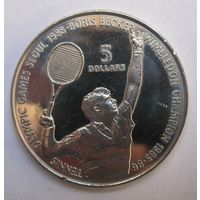 Ниуэ, 5 долларов, 1987