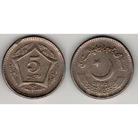 Пакистан km65 5 рупий 2003 год (f)(f07)*