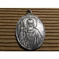 Образ Медальон.  Серебро. Царизм (князь Владимир)