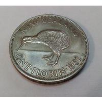 Новая Зеландия 1 флорин (2 шиллинга)1962 Елизавета