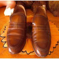 Туфли мужские 41 р-р натуральная кожа Цебо