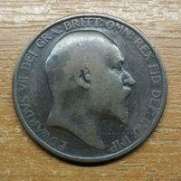 Великобритания 1 пенни 1906_РАСПРОДАЖА КОЛЛЕКЦИИ
