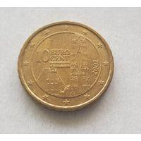 10 евроцентов 2002 Австрия