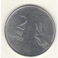 2 рупии 2009 г. МД: Бомбей.