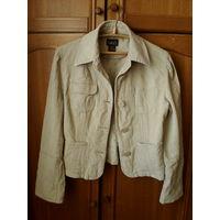 Пиджак 50-52 размер,штрокс.