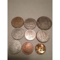 Монеты Румынии.