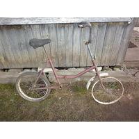 Рама раскладного велосипеда.
