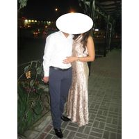 Шикарное вечернее платье Aidan Mattox, разм 48
