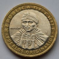 Чили, 100 песо 2006 г