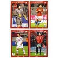Национальная сборная Чехии/ Большие карточки-открытки игроков 26 шук/ Сезон 2012г.