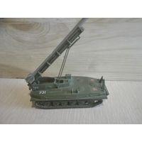 Ракетная установка.Военная техника.ГДР.1/87.