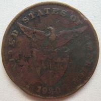 Филиппины под администрацией США 1 сентаво 1930 г.