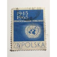 Польша 1965. 20 лет ООН. Полная серия