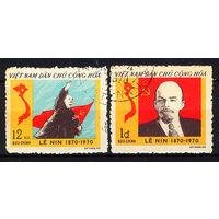 1970 Северный Вьетнам. 100 лет со дня рождения В.И.Ленина