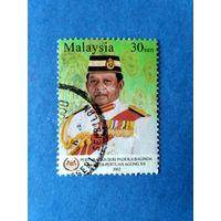 Марки Малайзия. Янг ди-Пертуан Агонг XII. 2002 год