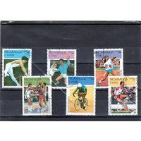 Никарагуа. Ми 2993-2998. Олимпийские игры в Барселоне - 1992 .