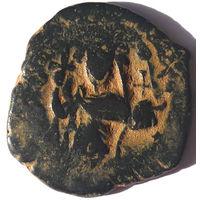 ВИЗАНТИЯ. КОНСТАНТ II (641-668 г). АЕ ФОЛЛИС.