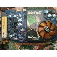 Видеокарта ZOTAC GeForce 8600GT 512Мб DDR2 (не рабочая)