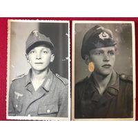 2 фото ВМВ Вермахт - оригинал - открыточный формат (цена за обе)