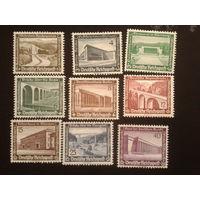 Германия Рейх 1936 зимняя помощь полная серия