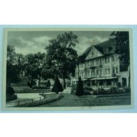 """Открытка города """"Hotel Furstenhof, Вена"""". 20-е годы. Австрия."""