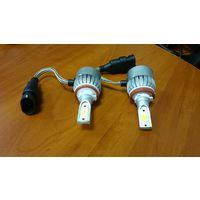 Светодиодные лампы для авто, 2шт., Н11