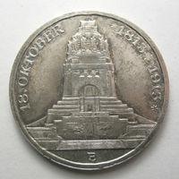 Саксония 3 марки 1913 100 лет битвы под Лейпцигом.