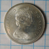 10 центов, 1967 год, Канада.