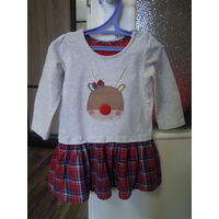 Платье для девочки на рост 80-86см (1-1,5 года)