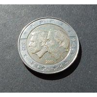2 евро 2005 Бельгия Экономический союз с Люксембургом (Бельгийско-Люксембургский экономический союз)