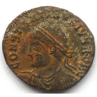 КОНСТАНТИН II (338-340г.) АНТИОХИЯ. АЕ ФОЛЛИС.
