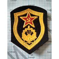 Шеврон инженерных войск СССР