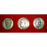 Памятный набор настольных медалей Германии. В оригинальной упаковке.