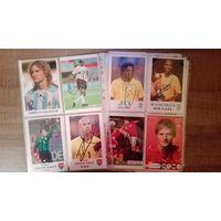 """СУПЕР ЛОТ!!! 170 различных экземпляров """"живых"""" автографов игроков в форме сборных и клубов на фотографиях и открытках на 21шт. файлах."""