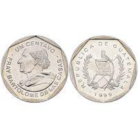Гватемала 1 сентаво 1999 UNC