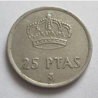 Испания 25 песет 1982