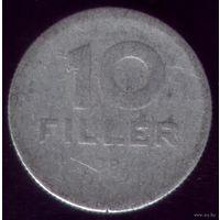 10 филлеров 1958 год Венгрия