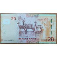 20 долларов 2015 года - Намибия - UNC