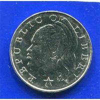 Либерия 25 центов 2000 UNC