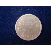 Монета 1 марка, Финляндия, 1980 г.