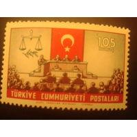 Турция 1960 красный полумесяц