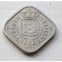 Нидерландские Антильские острова 5 центов, 1971 1-1-46