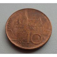 10 крон Чехия 2009 г.в. KM# 4, 10 KORUN, из коллекции
