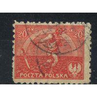 Польша Респ 1921 Сеятель Стандарт #160